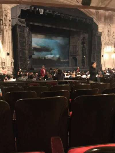 Orpheum Theatre (San Francisco) section Orchestra