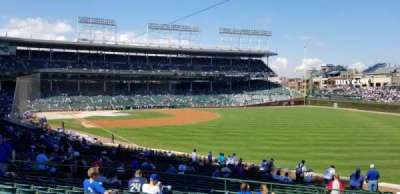 Wrigley Field , section: 242, row: 13, seat: 106