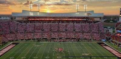 Cardinal Stadium, section: 207, row: C, seat: 1