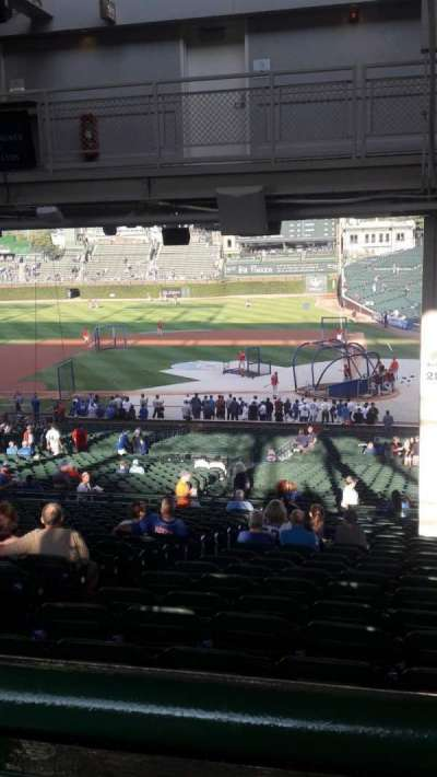 Wrigley Field, section: 216, row: 21, seat: 1-4
