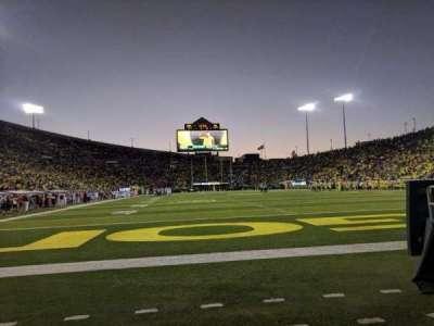 Autzen Stadium, section: Field