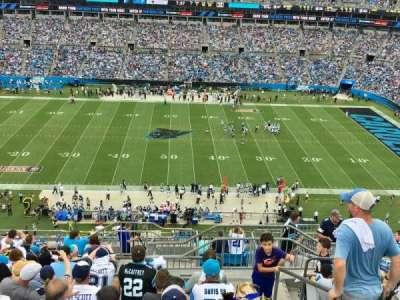 Bank Of America Stadium, section: 515, row: 11, seat: 1
