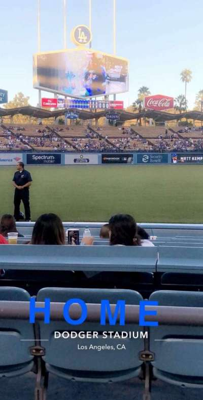 Dodger Stadium, section: 39FD, row: 2, seat: 3-4