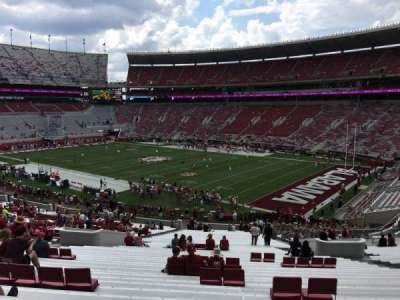 Bryant-Denny Stadium section MM