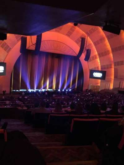 Radio City Music Hall, section: Orchestra 7, row: G, seat: 702