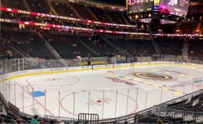 T-Mobile Arena, section: 13, row: P, seat: 12
