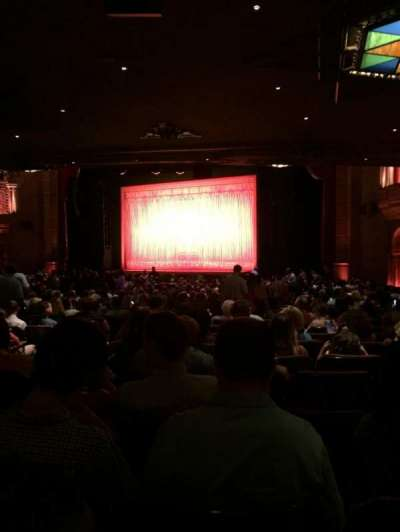 Fox Theatre (Atlanta), section: Orchestra R, row: JJ, seat: 8, 10, 12, 14