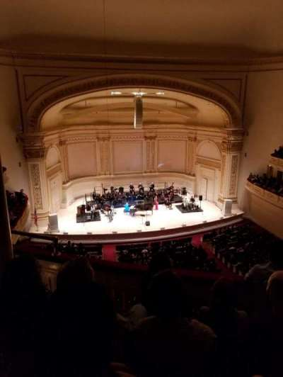 Carnegie Hall section Dress Circle