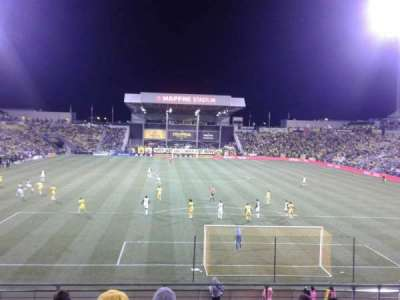 Mapfre Stadium, section: 116