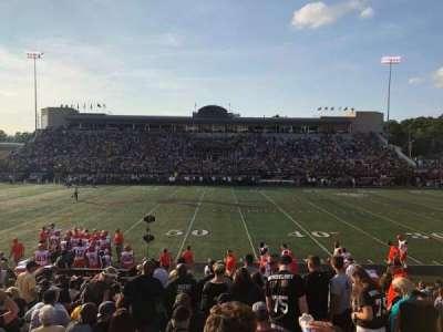 Waldo Stadium, section: D, row: 5, seat: 20