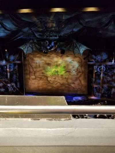 Gershwin Theatre Section Front Mezzanine Row A Seat 115