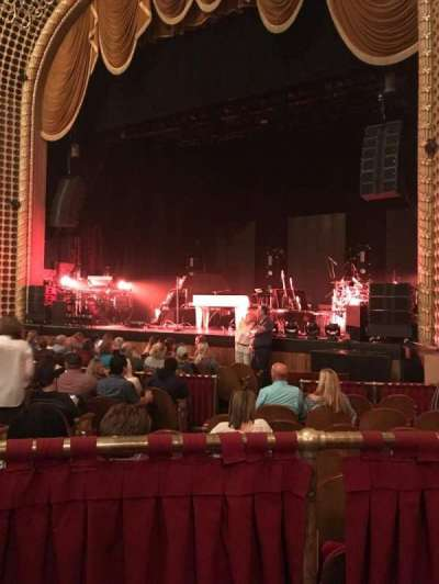 Pabst Theater Section Rt Row L Seat 8