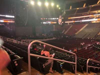 Prudential Center, section: 20, row: 13, seat: 17