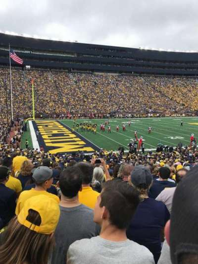 Michigan Stadium section 6