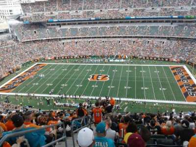Paul Brown Stadium section 308
