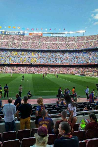 Camp Nou section 108