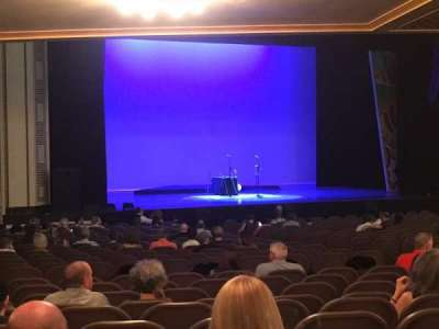 Taft Theatre, section: Orchestra 2, row: AA, seat: 12