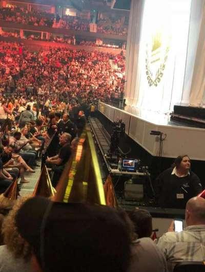 Bridgestone Arena, section: 107, row: EE, seat: 7