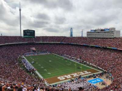 Cotton Bowl section 120
