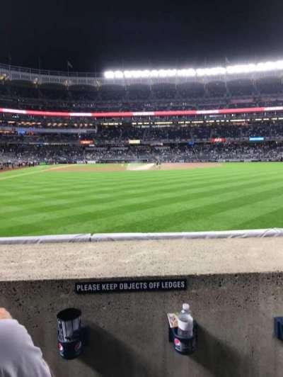 Yankee Stadium section 105
