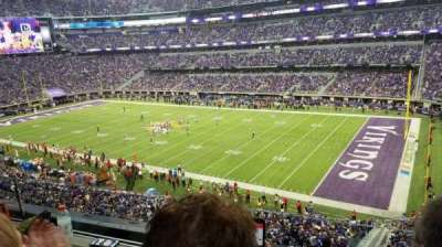U.S. Bank Stadium section 206