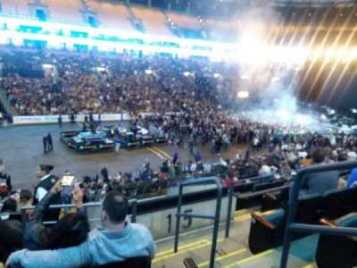 TD Garden, section: LOGE 4, row: 26, seat: 2