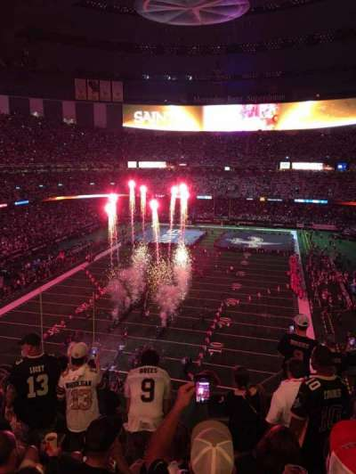 Mercedes-Benz Superdome, section: 625, row: 7, seat: 6