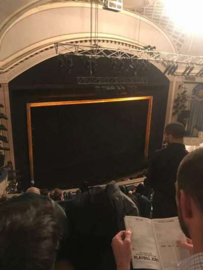 Ambassador Theatre section Rear Mezzanine L