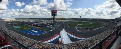 Charlotte Motor Speedway, section: CD 7, row: 1, seat: 11