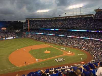 Dodger Stadium, section: 23RS, row: K, seat: 17