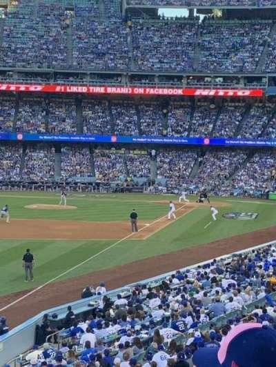 Dodger Stadium, section: 161LG, row: C, seat: 8
