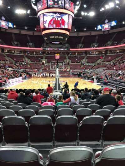 Value City Arena, section: 131, row: G, seat: 10
