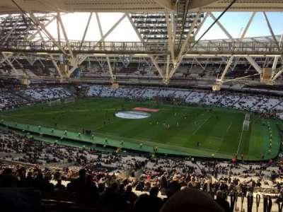 London Stadium section 240