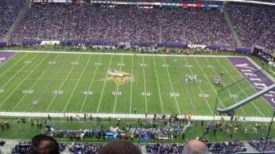 U.S. Bank Stadium section 341
