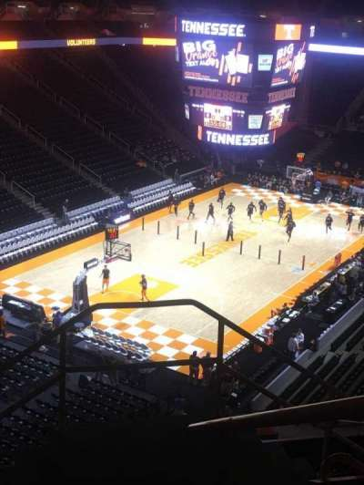 Thompson-Boling Arena, section: 311, seat: 1