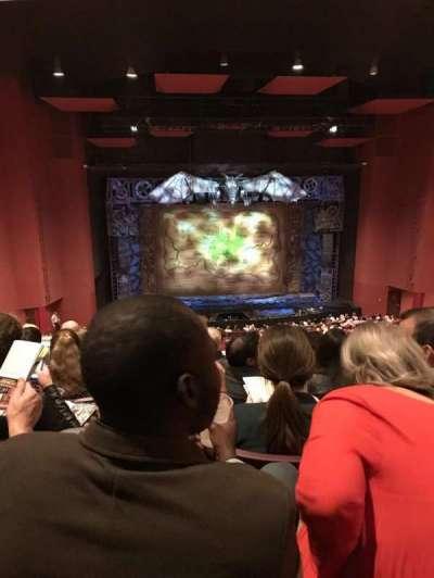 San Diego Civic Theatre section MezzL4