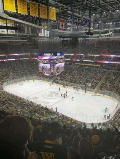PPG Paints Arena, section: 216, row: L, seat: 6