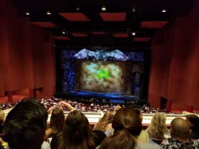 San Diego Civic Theatre section Mezzanine