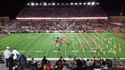 ALUMNI STADIUM, section: EE, row: 17, seat: 25