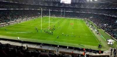 Twickenham Stadium, section: M19, row: 65, seat: 91