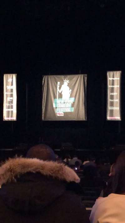 Hulu Theater at Madison Square Garden, section: 202, row: AA, seat: 1