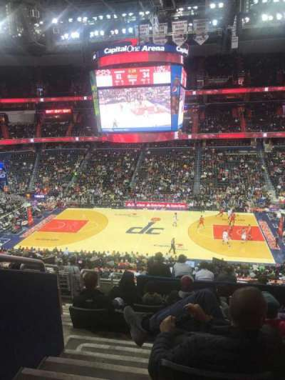 Capital One Arena, section: 216, row: K, seat: 3