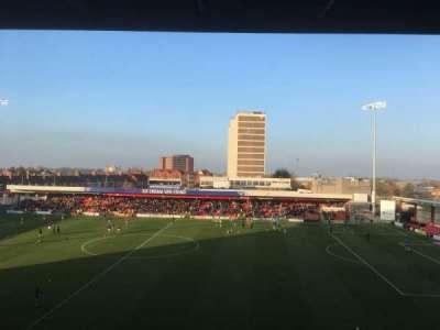 Alexandra Stadium, section: F, row: AA, seat: 127