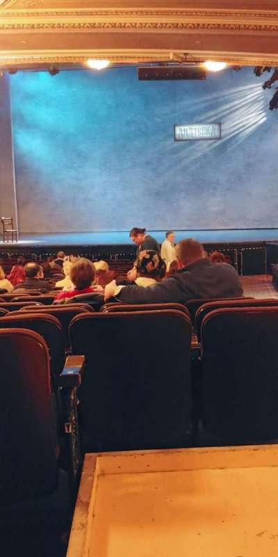 Hippodrome Theatre, section: Center ORC, row: BB, seat: 120