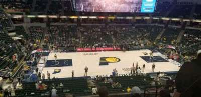 Bankers Life Fieldhouse, section: 118, row: 8, seat: 6