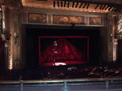 Hollywood Pantages Theatre Section Lc Row B Seat 307