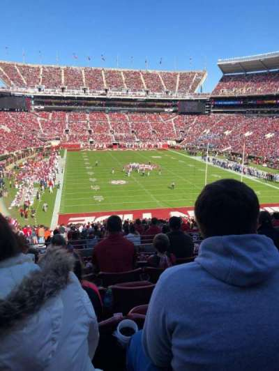 Bryant-Denny Stadium section SZ 4