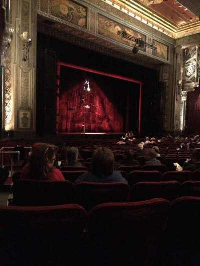 Hollywood Pantages Theatre Section Orchestra L Row W Seat 17