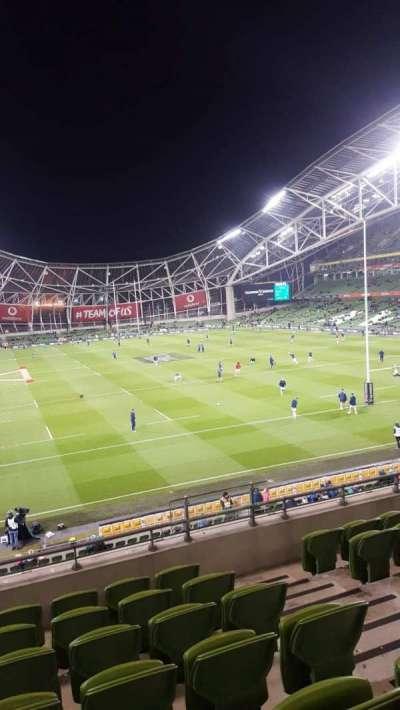 Aviva Stadium section Block 318