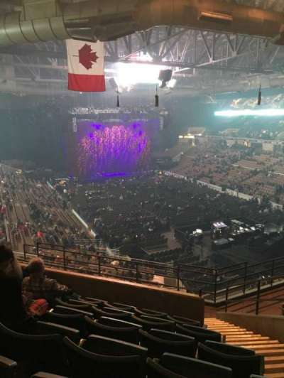 Dcu Center Section 204 Row K Seat 3
